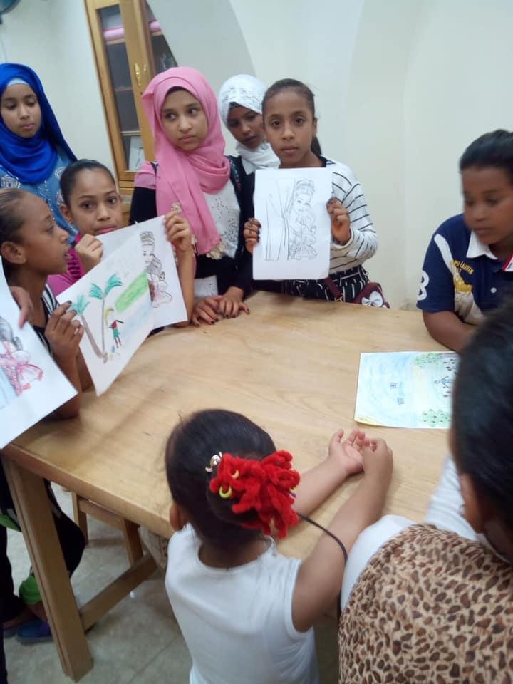 قصور ثقافة الأقصر تنظم أنشطة متنوعة حول الترابط الأسري وورش فنون تشكيلية للأطفال (4)