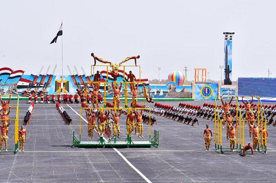 الرئيس السيسي يشهد حفل تخريج الدفعة 157 (10)