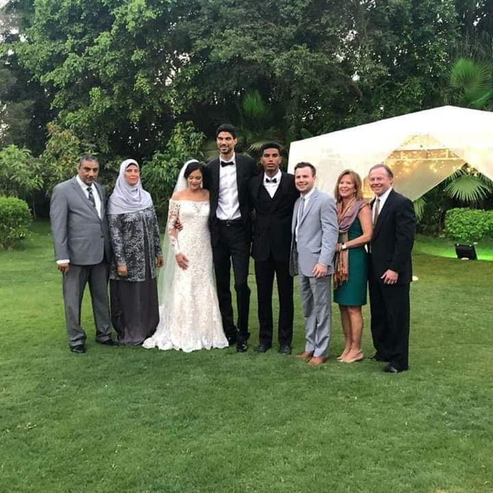 حفل زفاف انس اسامة