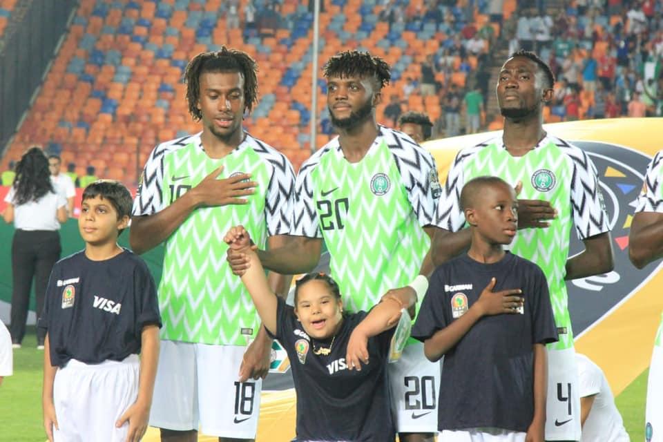 ذوي الهمم من مباراة نيجيريا