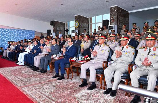 الرئيس السيسي يشهد حفل تخريج الدفعة 157 (3)