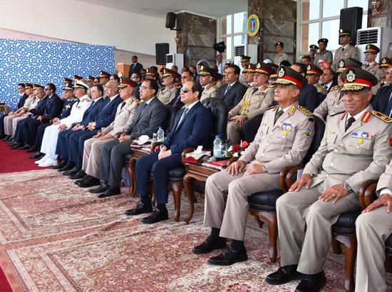 الرئيس السيسي يشهد حفل تخريج الدفعة 157 (2)