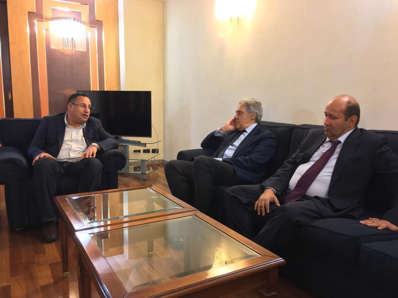 محافظ الإسكندرية يختتم زيارته لإيطاليا بلقاء نائب عمدة جنوة (2)