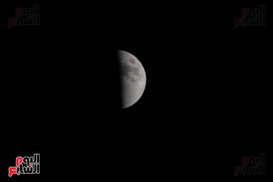 خسوف القمر من مرصد حلوان (5)