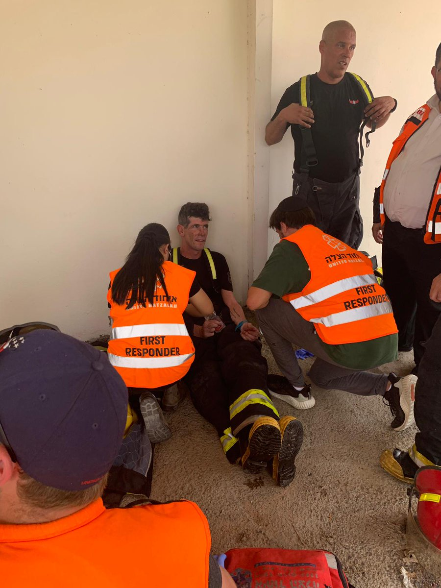 الحرائق فى إسرائيل (2)