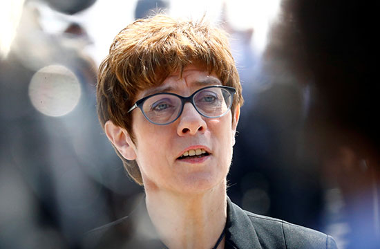وزيرة الدفاع الألمانية الجديدة
