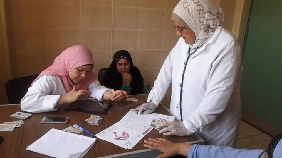 فحص 122 الف سيدة خلال مبادرة الرئيس ل دعم صحة المرأة بالبحيرة (3)