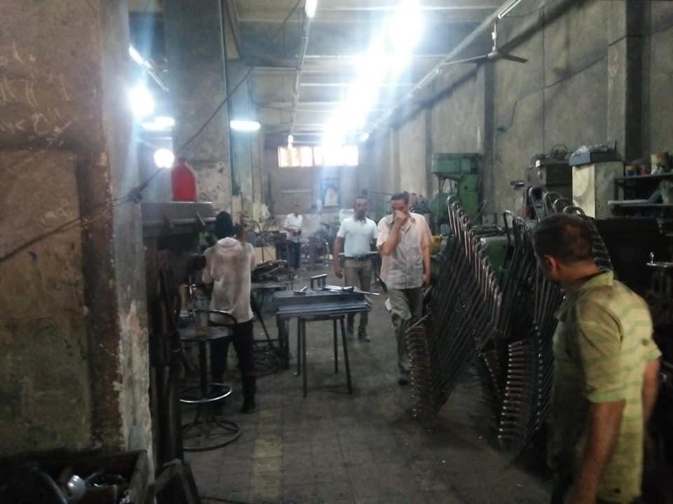 تشميع 3 مصانع فى حملات بالسلام أول (4)