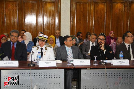 مؤتمر المركز القومى للبحوث الرقابية والجنائية (14)