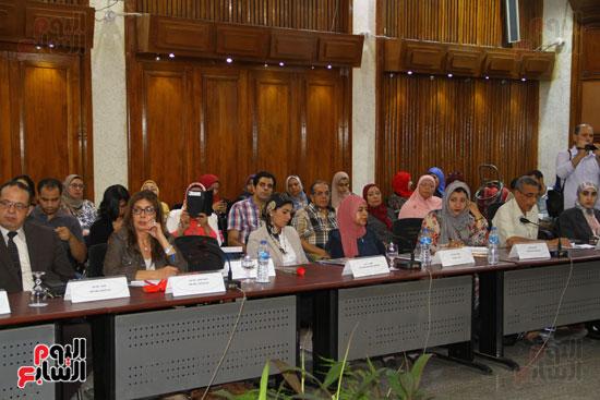 مؤتمر المركز القومى للبحوث الرقابية والجنائية (16)