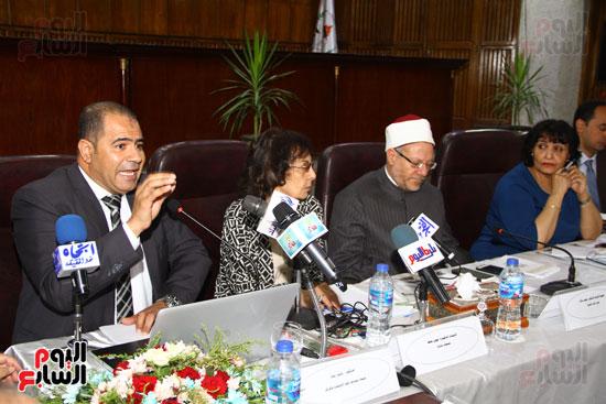 مؤتمر المركز القومى للبحوث الرقابية والجنائية (22)