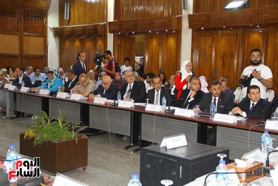 مؤتمر المركز القومى للبحوث الرقابية والجنائية (9)
