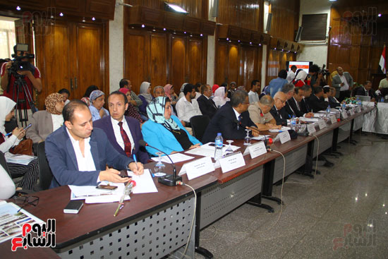 مؤتمر المركز القومى للبحوث الرقابية والجنائية (6)