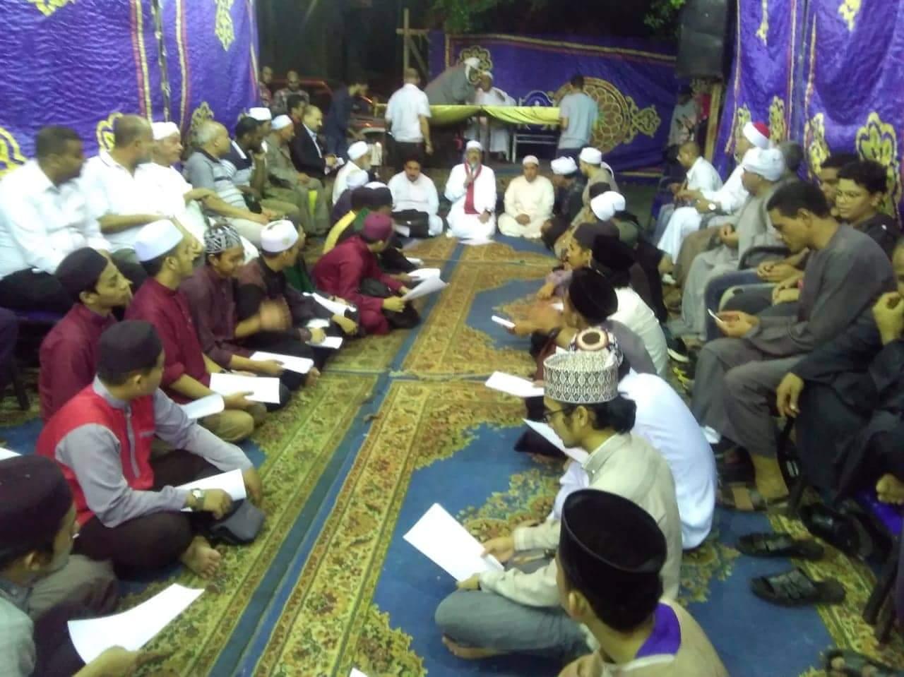 الطرق الصوفية تحيى الليلة الختامية لمولد سيدى جابر (4)