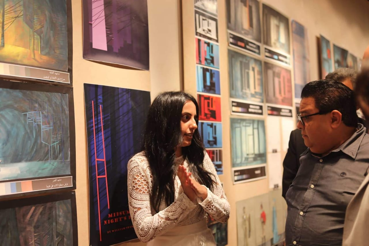 معرض الدفعة ٣٨ لخريجى شعبة الفنون التعبيرية (2)