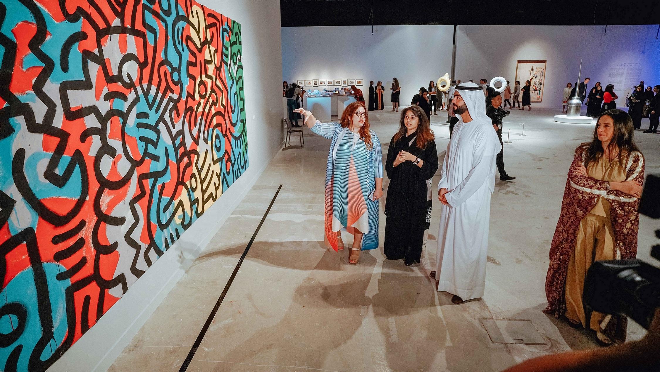 افتتاح معرض الفن والمدينة في منارة السعديات 2