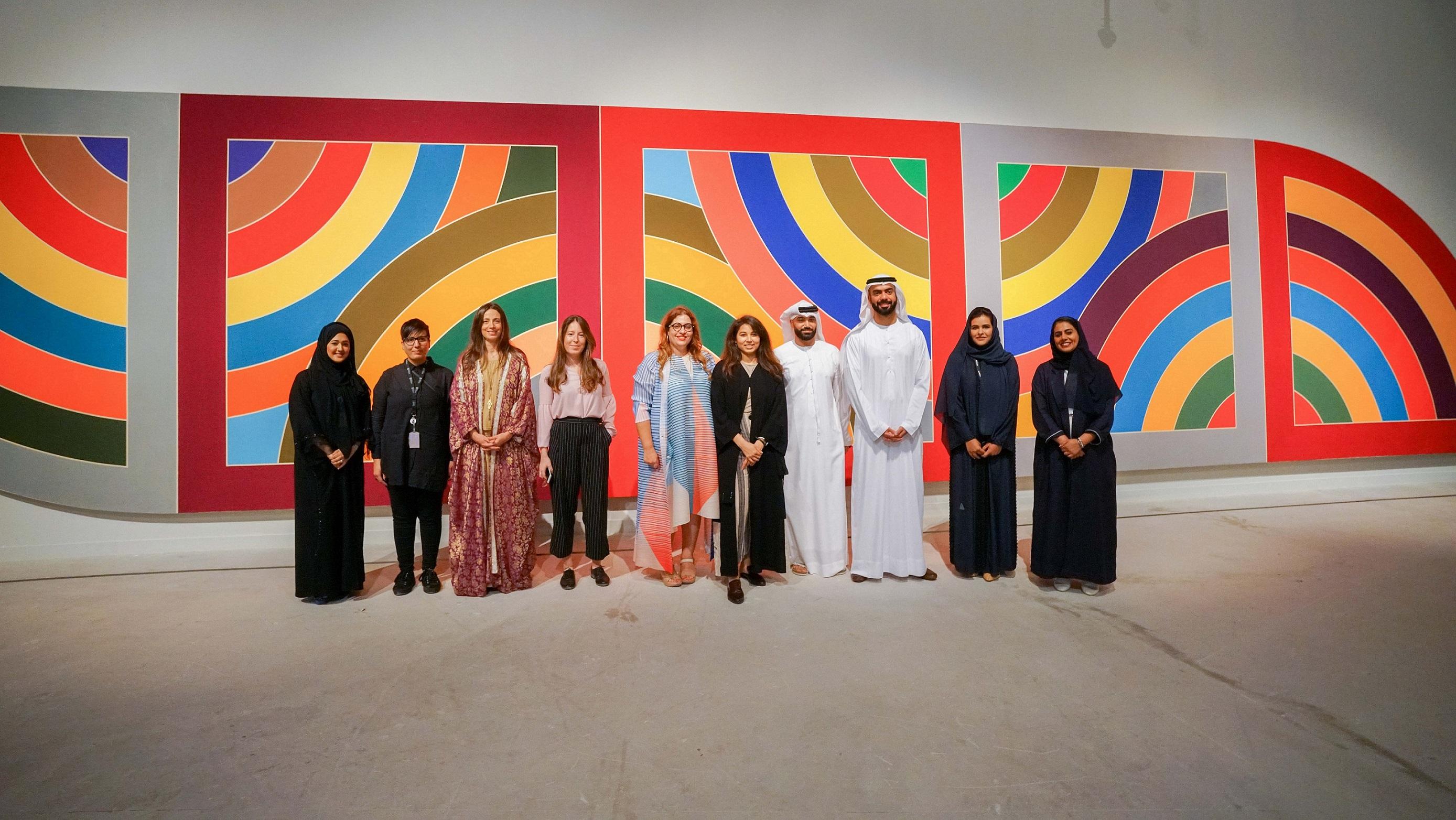 افتتاح معرض الفن والمدينة في منارة السعديات 1