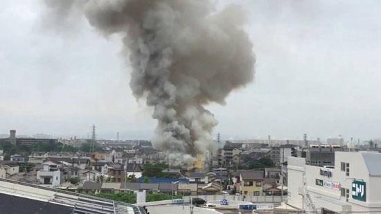 دخان-شديد-بسبب-الحريق