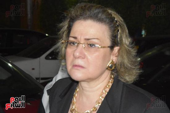عزاء زوجة رشوان توفيق (3)
