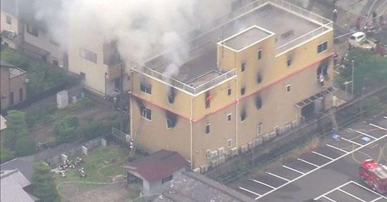حريق-شديد-فى-اليابان
