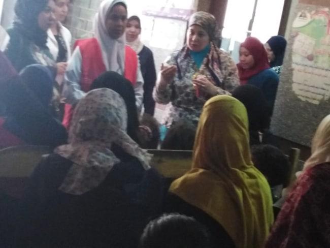 قومي للمرأة بأسيوط ينظم ندوات تثقيفية بالمراكز للتوعية بصحة المرأة (3)