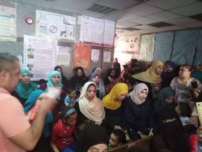قومي للمرأة بأسيوط ينظم ندوات تثقيفية بالمراكز للتوعية بصحة المرأة (4)