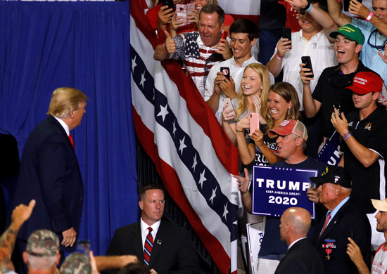 ترامب-والمؤيدون-له