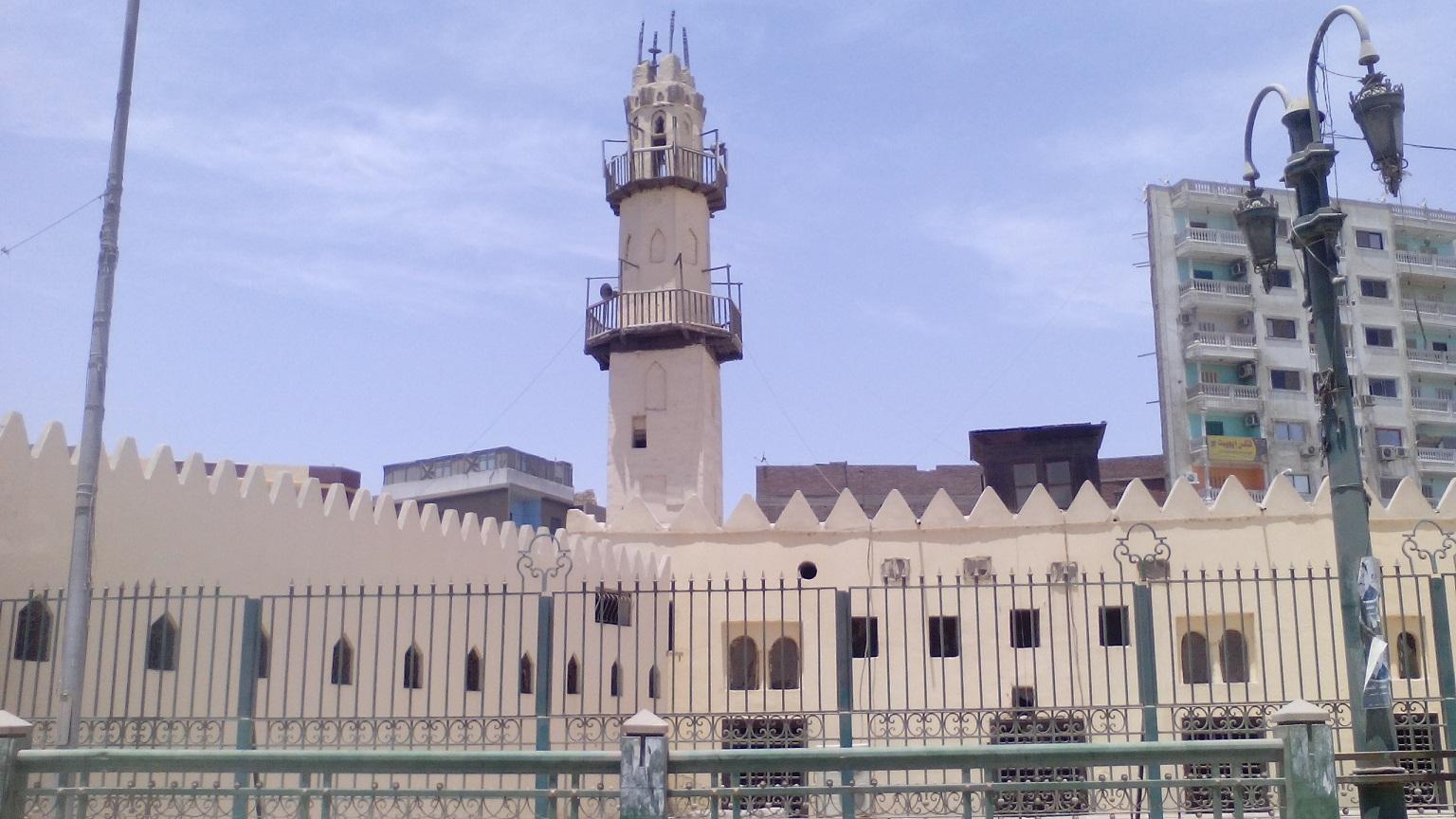 مسجد الوداع يعود للعصر المملوكي الجركسي بمدينة المنيا