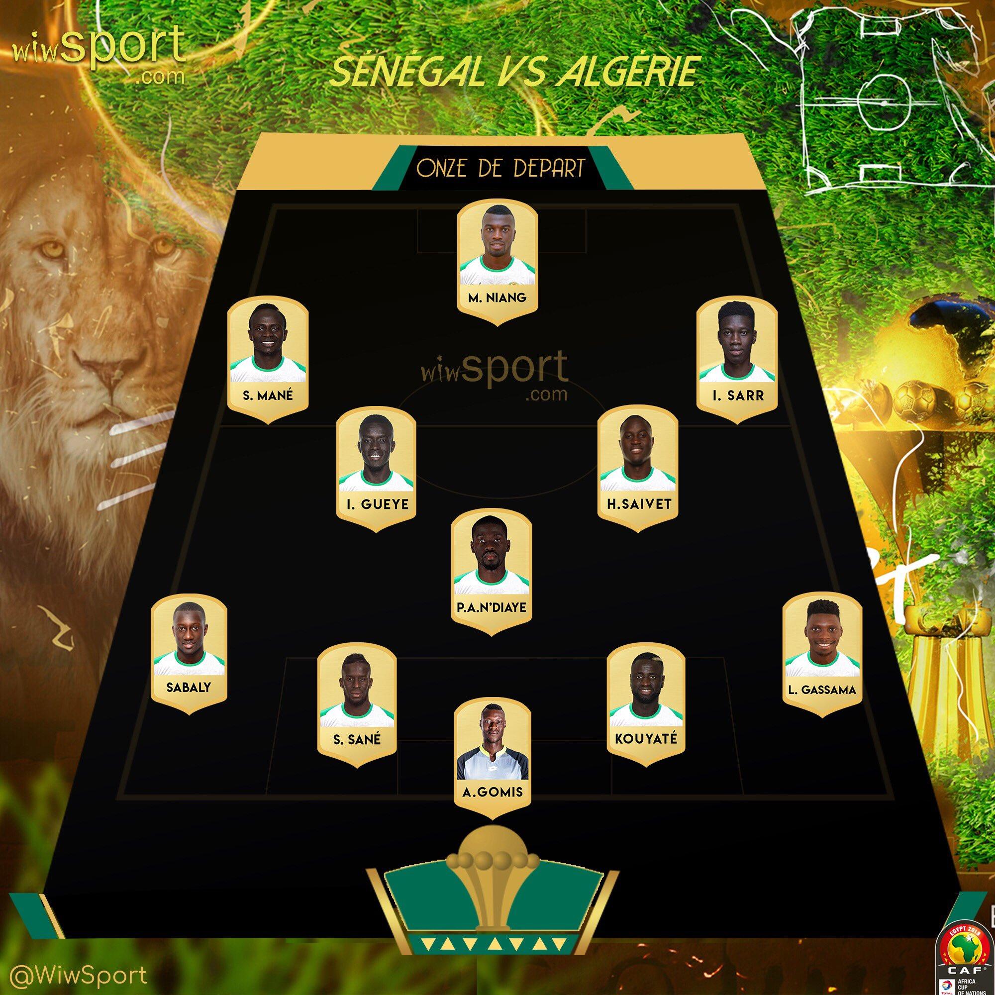 تشكيل السنغال