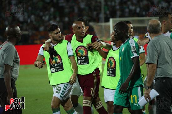 اشتباكات لاعبى الجزائر والسنغال  (5)