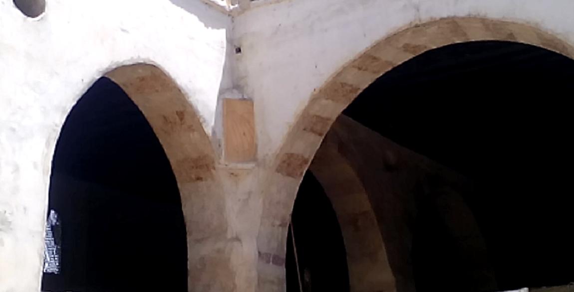 المزولة داخل المسجد