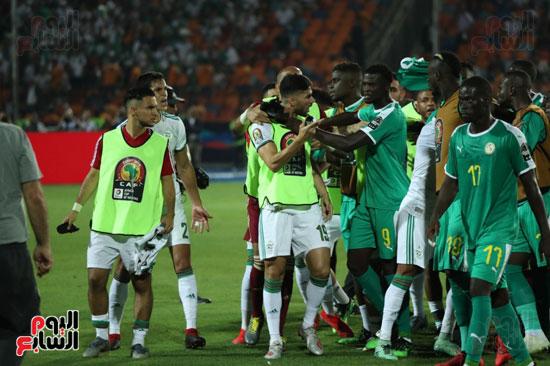 اشتباكات لاعبى الجزائر والسنغال  (2)