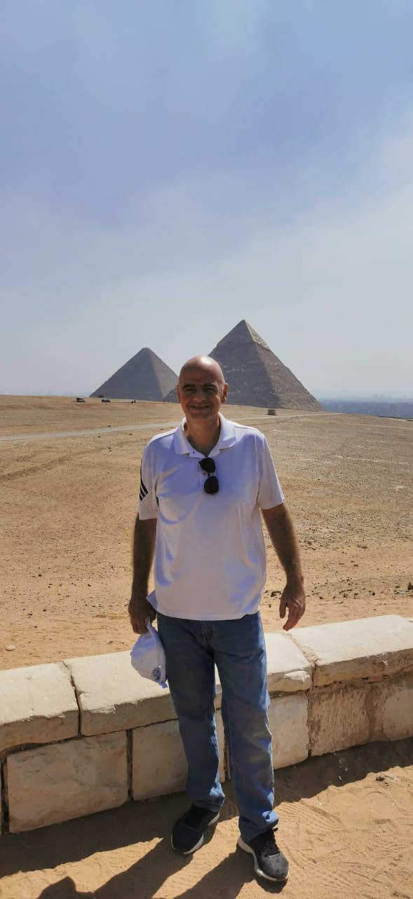 رئيس الفيفا فى الأهرامات (6)