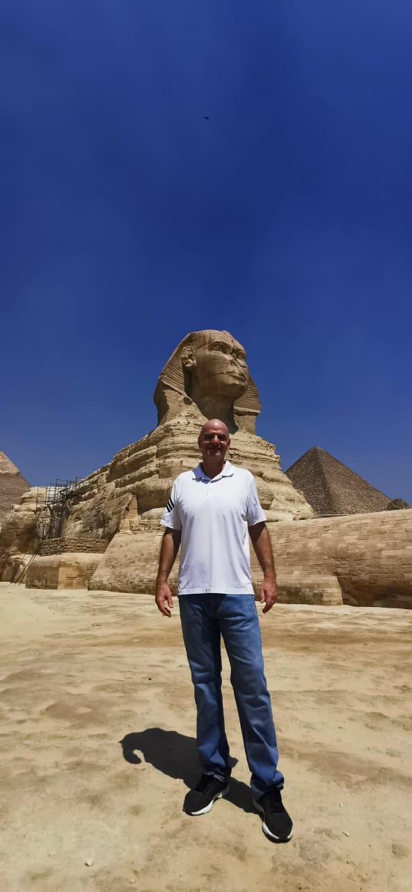 رئيس الفيفا فى الأهرامات (3)