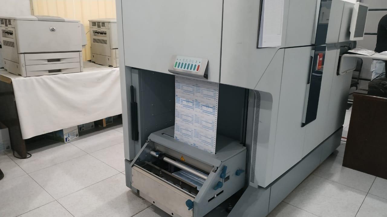 ماكينة طباعة فواتير الكهرباء