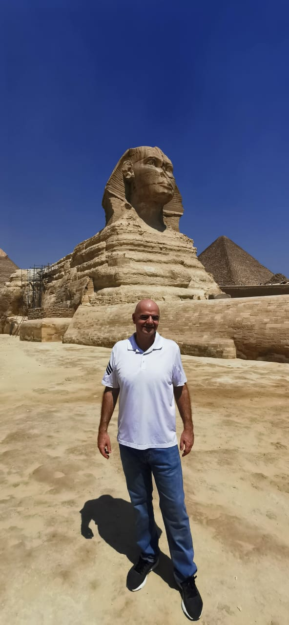 رئيس الفيفا فى الأهرامات (5)