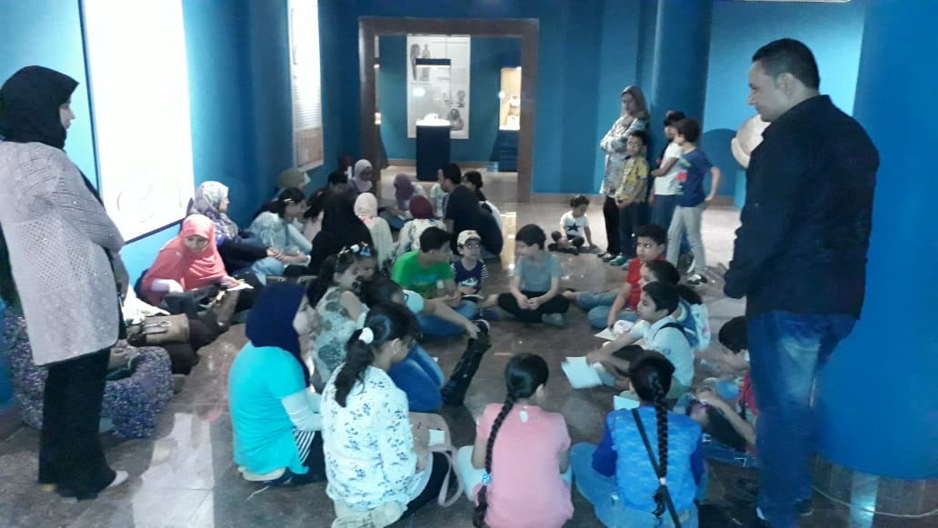 مشاركة الأطفال فى مبادرة اكتشف موهبتك بمتحف ملوى (9)