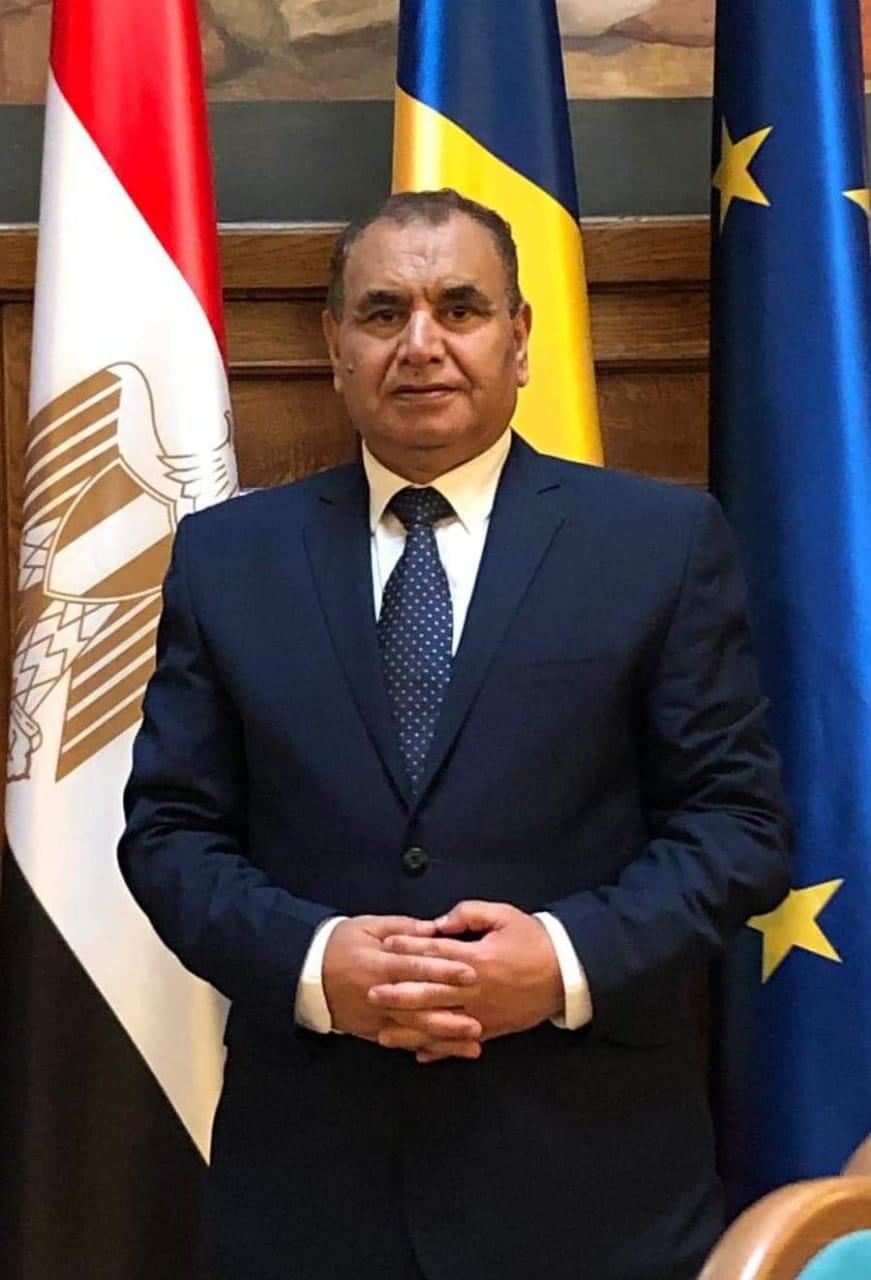 دكتور عبد الله مباشر نائب رئيس الجالية المصرية في رومانيا