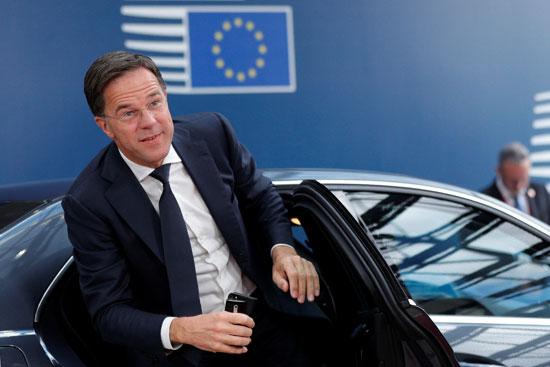 رئيس الوزراء الهولندى