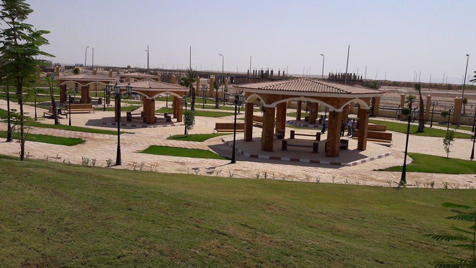 طفرة معمارية وتركيبة فنية ساحرة ترسم مدينة طيبة الجديدة أول مدينة بطراز عالمي (20)