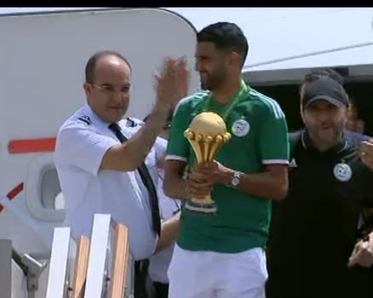 وصول الجزائر