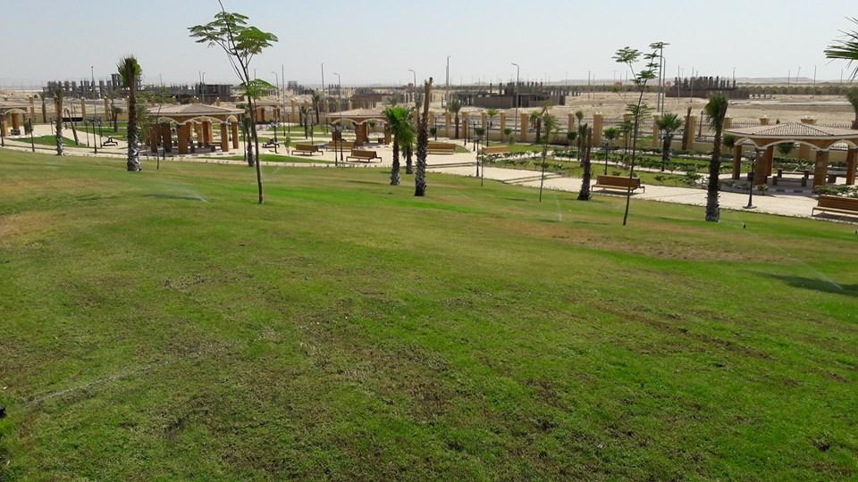 طفرة معمارية وتركيبة فنية ساحرة ترسم مدينة طيبة الجديدة أول مدينة بطراز عالمي (17)