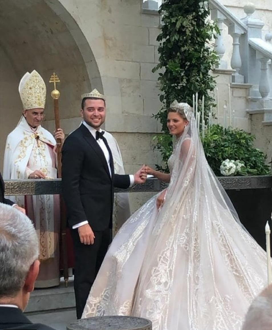 حفل زفاف نجل إيلى صعب (4)