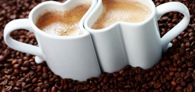 تناول القهوة بدون لبن او كريمر