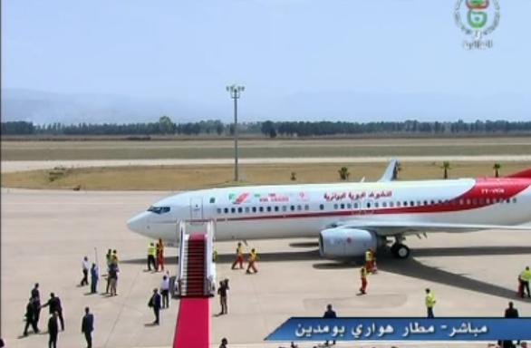 طائرة الجزائر