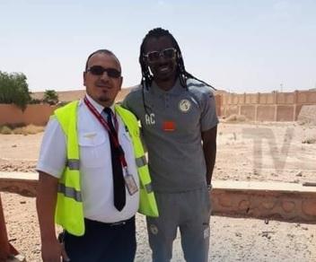 سيسيه مدرب السنغال فى الجزائر