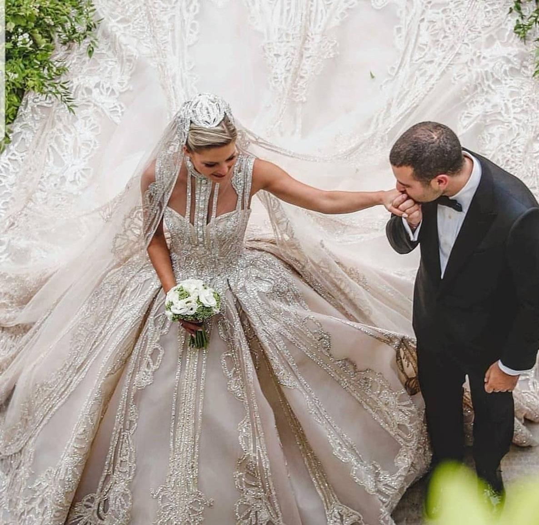 حفل زفاف نجل إيلى صعب (3)