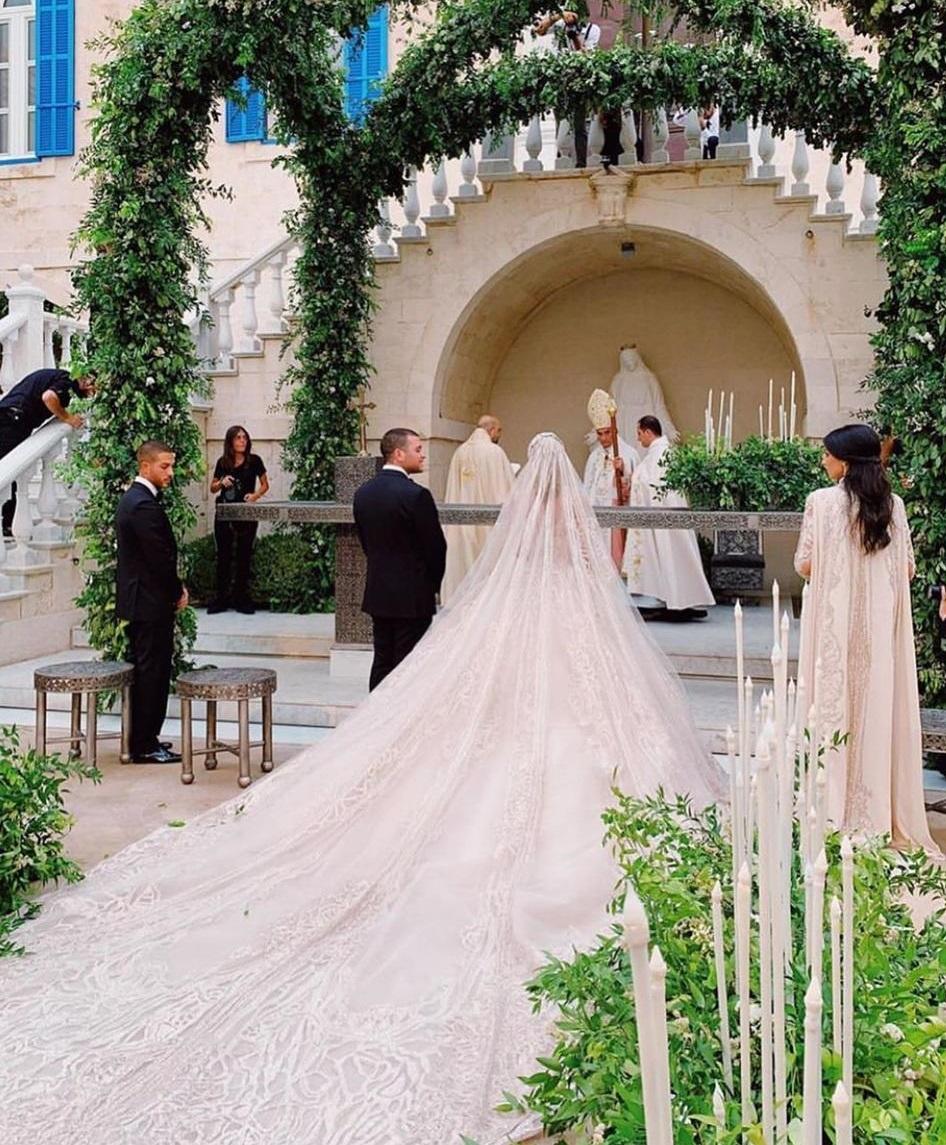 حفل زفاف نجل إيلى صعب (6)