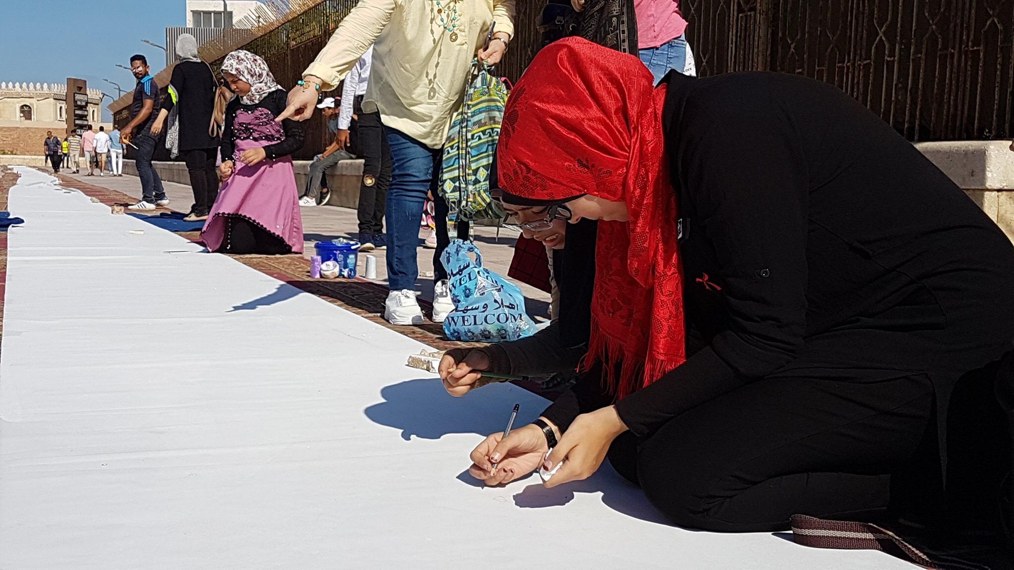 طلاب بورسعيد يرسمون معالمها (24)