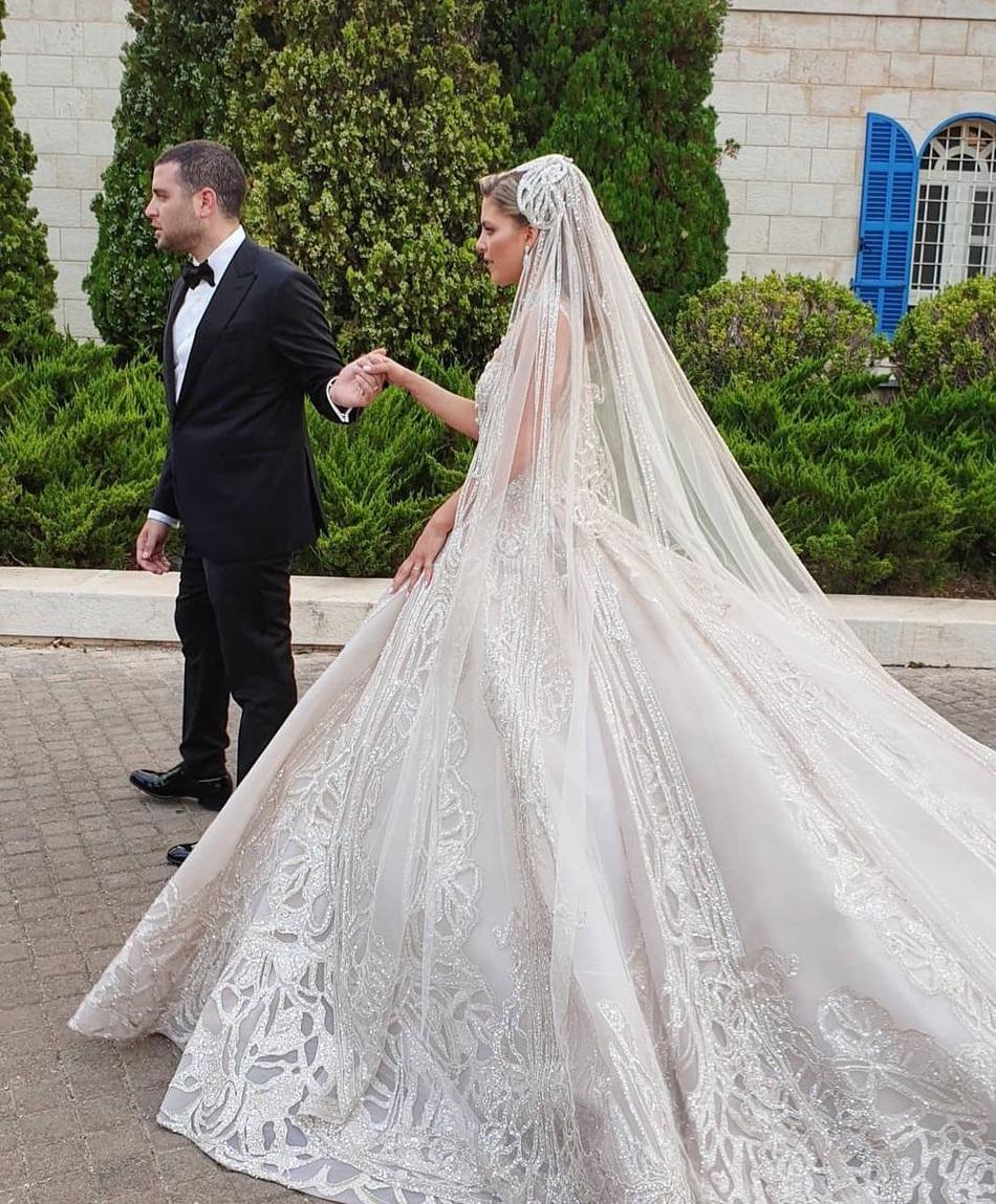 حفل زفاف نجل إيلى صعب (10)
